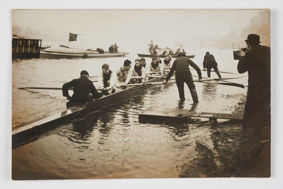 18. The Oxford rowing team