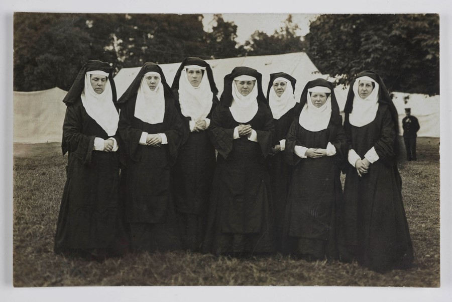 20. Seven women dressed as nuns