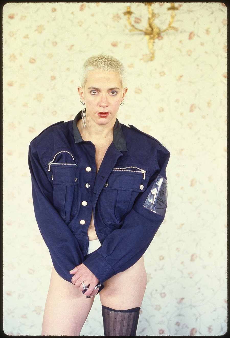 Kathy Acker at the Gramercy Park Hotel, 1988