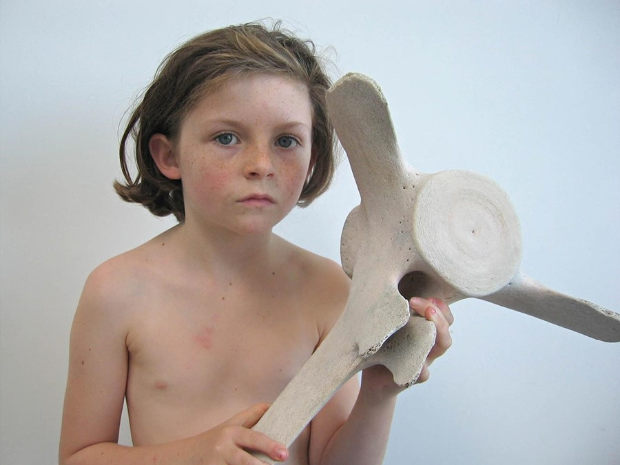Dorothy-Cross,-girl-with-whale-bone,-2007