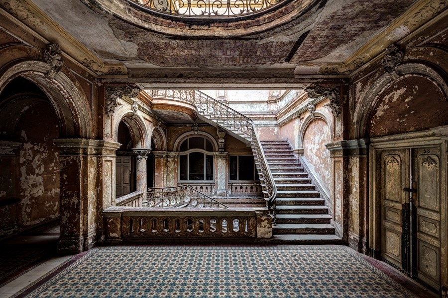 Finding Peace in Abandoned Architecture